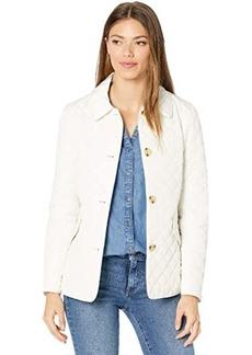 Ralph Lauren Quilted Button Through Blazer Jacket