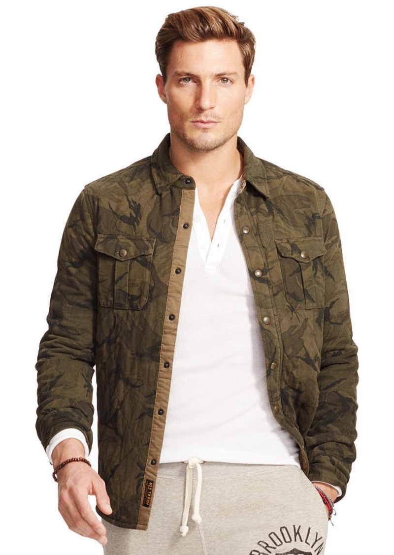 Ralph Lauren Quilted Camouflage Shirt