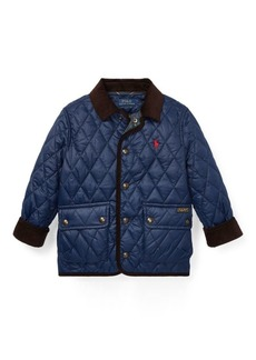 Ralph Lauren Quilted Car Coat
