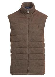 Ralph Lauren Quilted Cotton-Blend Vest