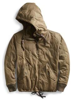 Ralph Lauren Quilted Cotton Jersey Hoodie