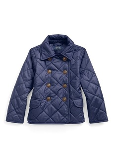 Ralph Lauren Quilted Double-Breasted Jacket