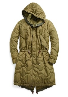 Ralph Lauren Quilted Fish-Tail Parka
