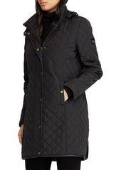Ralph Lauren Quilted Hooded Coat