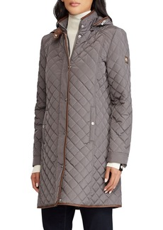 Ralph Lauren Quilted Hooded Parka Jacket