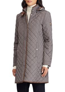 Ralph Lauren Quilted Hooded Parka Jacket