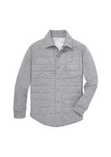 Ralph Lauren Quilted Jersey Shirt Jacket