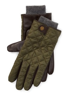 Ralph Lauren Quilted Leather Field Glove