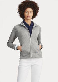 Ralph Lauren Quilted Mockneck Zip Jacket