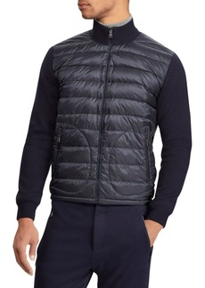 Ralph Lauren RLX Quilted Nylon & Wool Hybrid Jacket