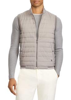 Ralph Lauren Quilted Reversible Hybrid Vest