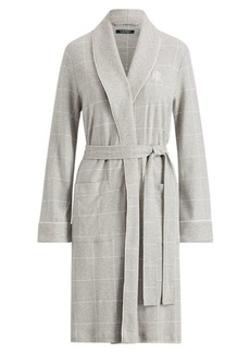 Ralph Lauren Quilted Shawl-Collar Robe