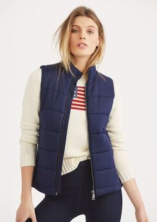 Ralph Lauren Quilted Stretch Jersey Vest