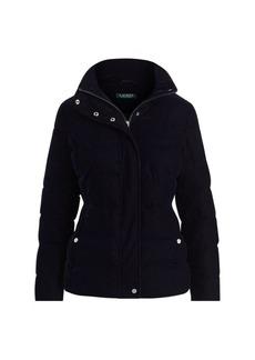 Ralph Lauren Quilted Velvet Jacket