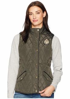 Ralph Lauren Quilted Vest w/ Heritage Crest