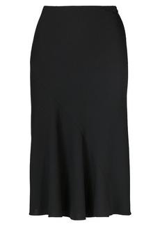 Rachelle Wool Crepe Skirt