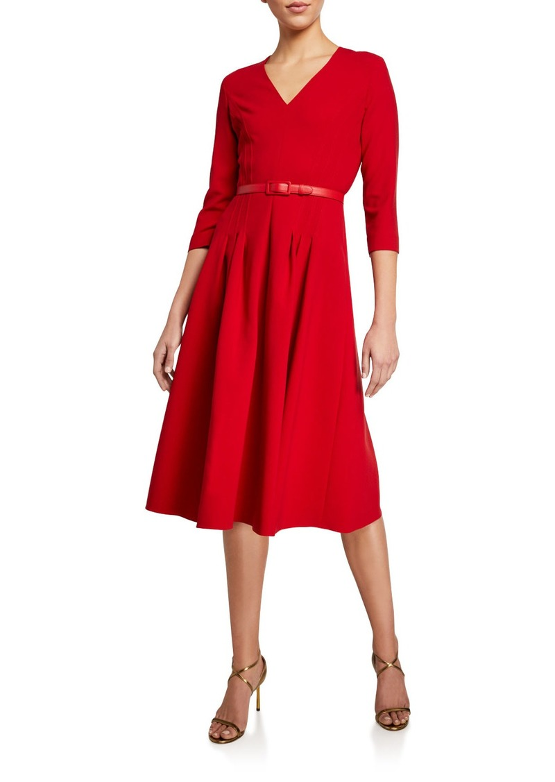 Ralph Lauren Raeana 3/4-Sleeve Dress