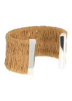 Ralph Lauren Raffia Cuff Bracelet
