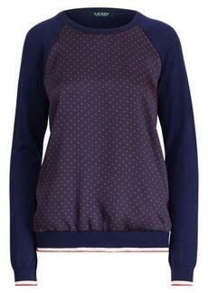 Ralph Lauren Raglan-Sleeve Pullover