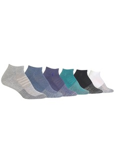 Ralph Lauren + Colorblock Low Cut Socks 6-Pack