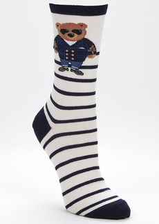 Ralph Lauren + Commodore Bear Trouser Socks