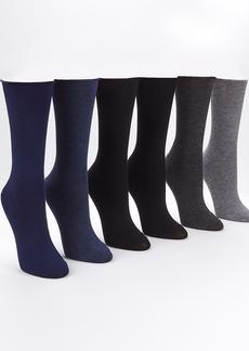 Ralph Lauren + Roll-Top Trouser Socks 6-Pack