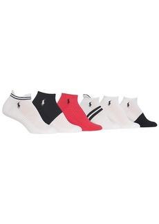 Ralph Lauren + Stripe Tab Low Cut Socks 6-Pack