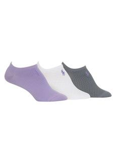Ralph Lauren 3-Pack Mesh Liner Socks