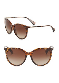 Ralph Lauren 56MM Cats Eye Sunglasses