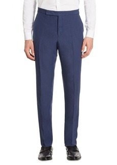 Ralph Lauren Anthony Classic-Fit Silk & Linen Pants