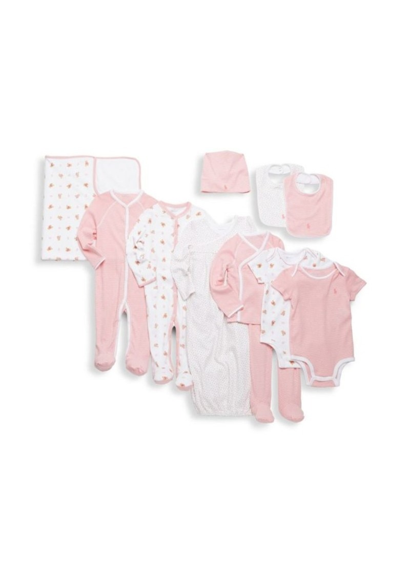 3ab60fb24a42e On Sale today! Ralph Lauren Ralph Lauren Baby Girl s 11-Piece Gift ...