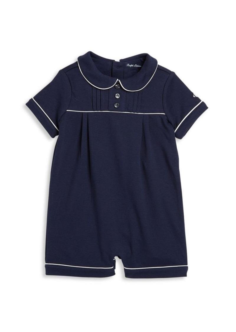 ad3ecdc122 Baby's Pintucked Cotton Shortall