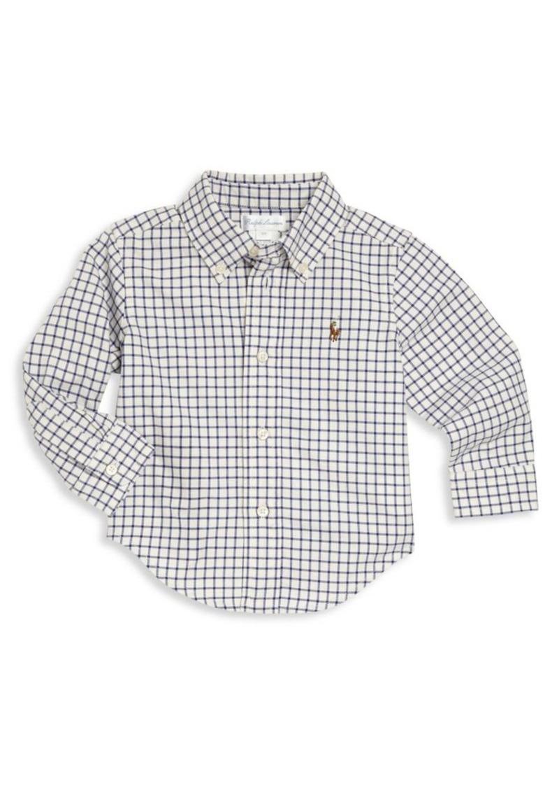 Ralph Lauren Baby's Plaid Button-Front Shirt