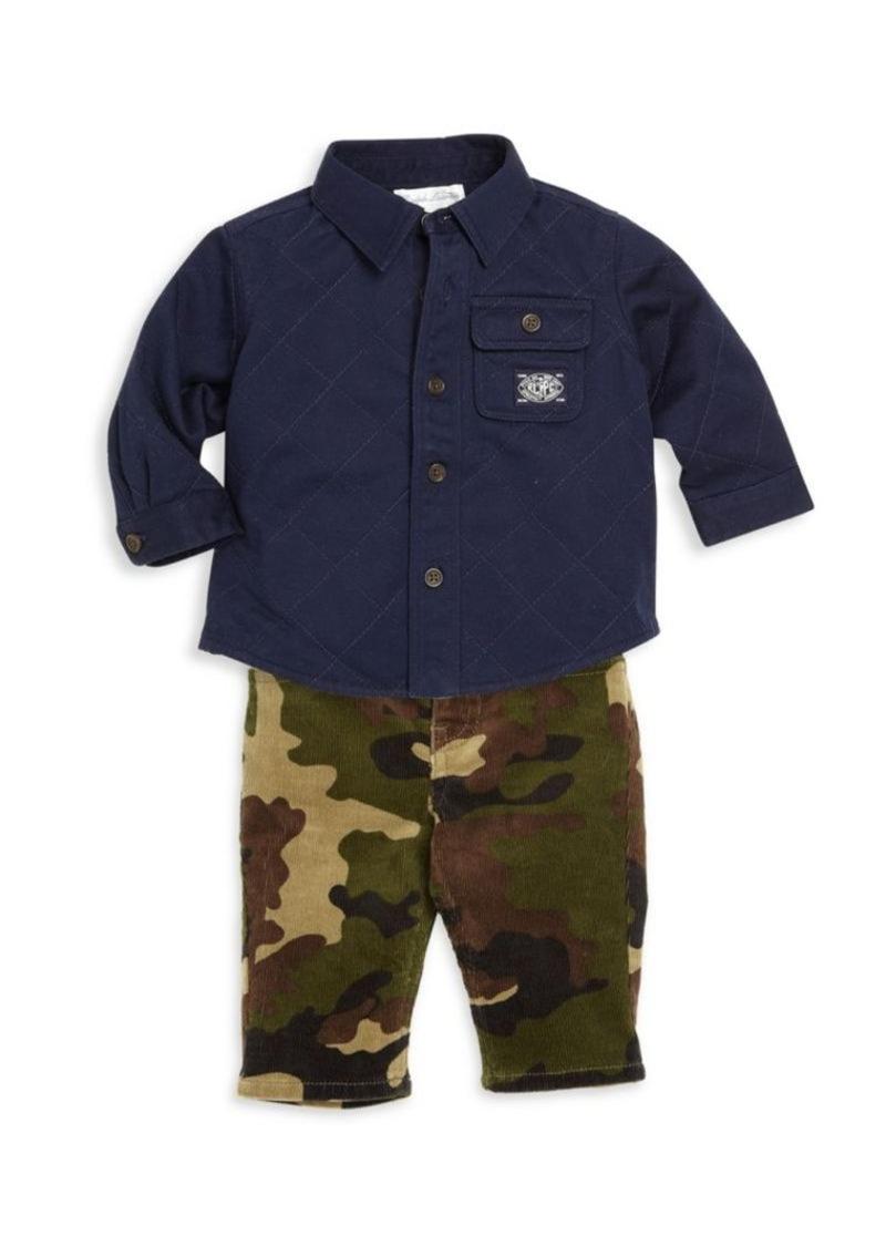 Ralph Lauren Baby's Shirt Jacket & Pants Set