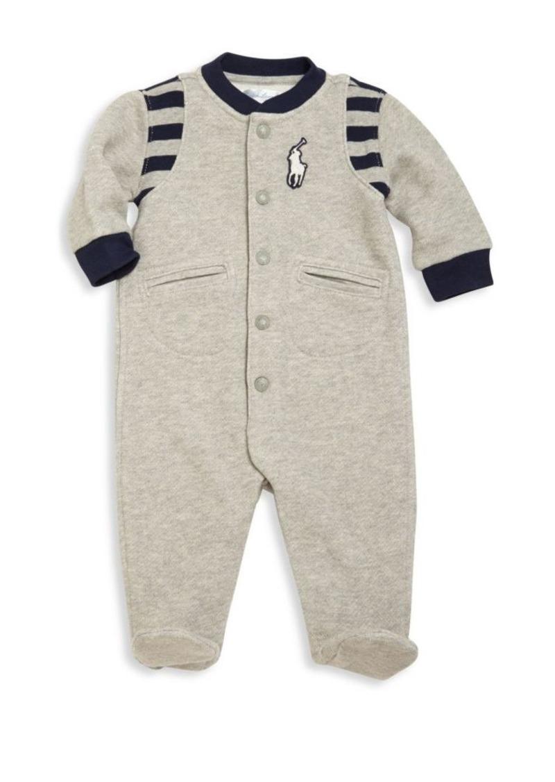 Ralph Lauren Baby's Stand Collar Footie
