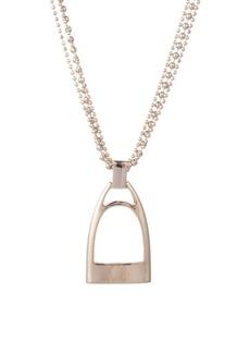 Ralph Lauren Beaded Multi-Strand Pendant Necklace