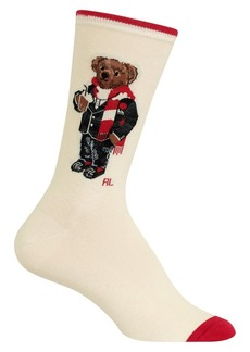 Ralph Lauren Bear Crew Socks