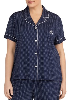 Ralph Lauren Bermuda Short Sleeve Pajama Set