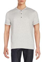 Ralph Lauren Black Label Button Front Cotton Polo