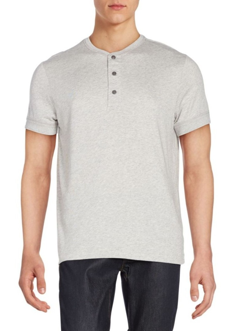 Ralph Lauren Black Label Button Front Cotton Polo