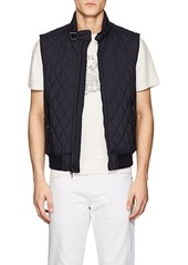 Ralph Lauren Black Label Men's Fairfield Diamond-Quilted Tech-Fabric Vest