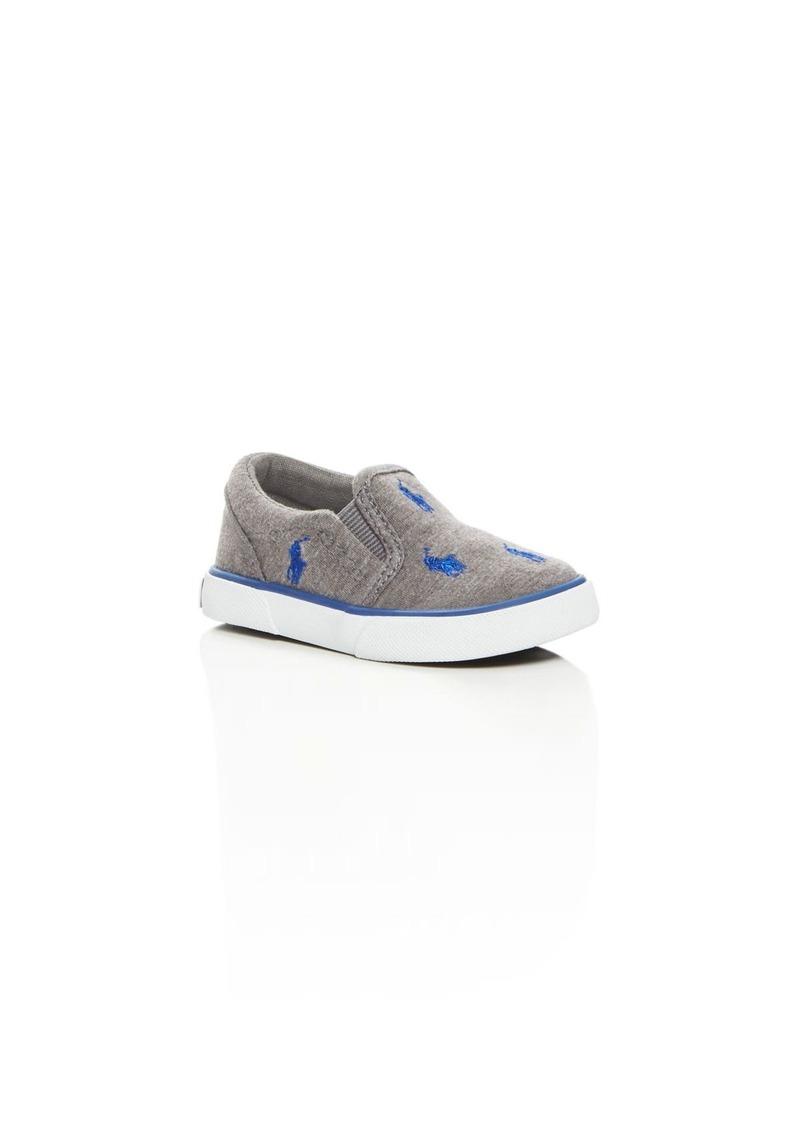 Ralph Lauren Boys' Bal Harbour Slip On Sneakers - Walker