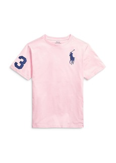 Ralph Lauren: Polo Polo Ralph Lauren Boys' Big Pony Tee - Big Kid