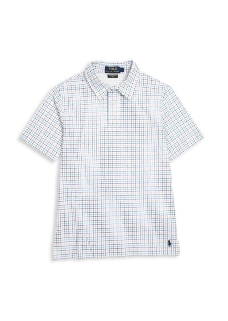 Ralph Lauren Boy's Cotton Mesh Polo Shirt