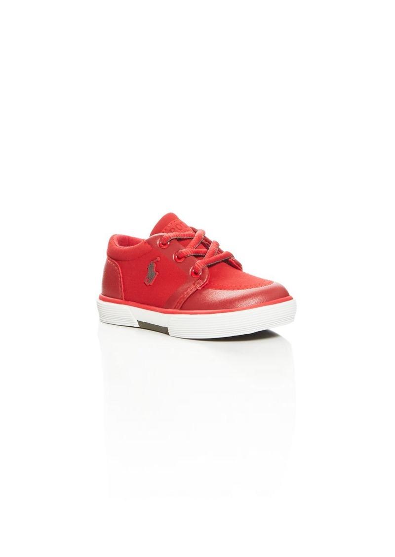Ralph Lauren Boys' Faxon II Lace Up Sneakers - Walker