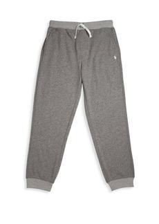 Ralph Lauren Boy's French Terry Cotton Jogger Pants