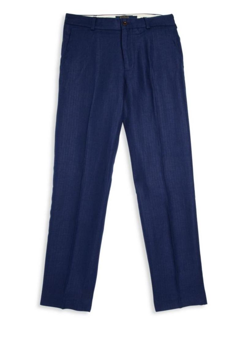 Ralph Lauren Boy's Linen Preppy Pants