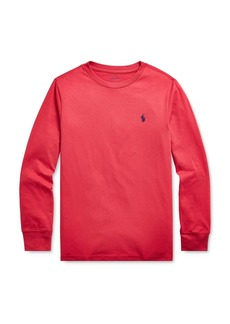 Ralph Lauren Boys' Long Sleeve Tee - Big Kid