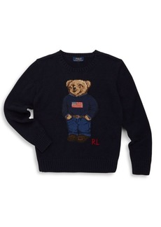 Ralph Lauren Boy's Polo Bear Sweater