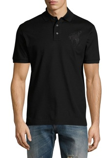 Ralph Lauren Bucking Bronco Cotton Pique Polo Shirt